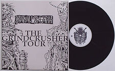 Napalm Death - The Grindcrusher Tour LP Live UK '89 Carcass Extreme Noise Terror