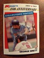 1987 Topps Kmart Stars Of The Decades #24 George Brett Baseball Card