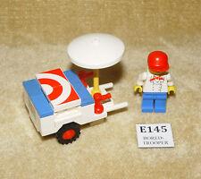 LEGO Sets: Classic Town: Food & Drink: 6601-1 Ice Cream Cart (1985) 100% YumYum!