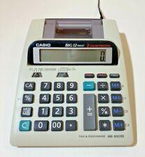 Casio Big 12 Digit Receipt 2-Color Printing Tax & Exchange Calculator HR-100TE