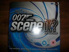 Scene It DVD Board Game 007 Edition Official Bond Trivia Game Great Condition