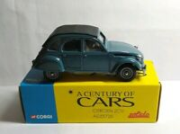 CORGI SOLIDO A CENTURY OF CARS SPECIAL EDITION 1:43 CITROEN 2CV6 - ADZ5728