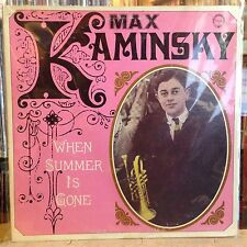 [SOUL/JAZZ]~EXC LP~MAX KAMINSKY~When Summer Is Gone~[1977~CHIAROSCURO Issue]~