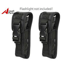 2pcs Belt Clip Flashlight Holster for Tactical Surefire G2 6P Flashlight Torch