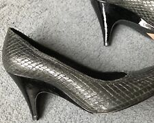 Stunning ALL SAINTS Metallic Effect Two Tone Heel Stiletto Shoe,37/4.5,Worn 2x