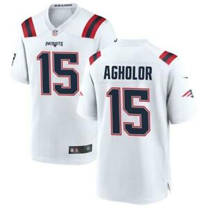 Nelson Agholor Patriots Men's White Jersey