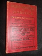 Kelly's Directory of Norfolk 1937 inc Map - Genealogy, Local History Reference