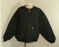 Mens CARHARTT YUKON EXTREMES J133 BLK ARTIC QUILT lined NO HOOD Jacket 5XL