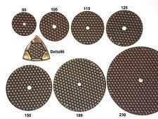 Diamant Schleifscheiben Polierscheiben Klett für Naturstein Beton Marmor Granit
