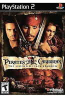 Pirates of the Caribbean: The Legend of Jack Sparrow Ps2 Game Disc Only 34J