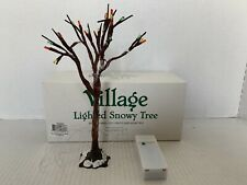 Dept 56 Heritage Village Light Snowy Tree #52683