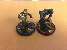 Heroclix danger room Beast #005 & Hdc Trooper #005 figure set