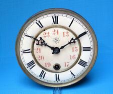 Uhrwerk o. Schlag f. kleinen Regulator Wanduhr Junghans + Pendel + Halter 36cm