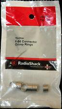 RadioShack 75-Ohm F-56 connector Crimp Rings   #278-0217