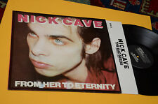 NICK CAVE LP FROM HERE TO ETERNITY ORIOG UK 1984 ANCIENNE AVEC INNER TESTI