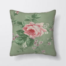Rose Green Printed Cushion Covers Pillow Cases Home Decor or Inner