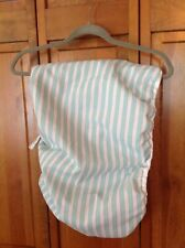 Mainstays ironing board cover - full size - blue/ white stripes Excellent