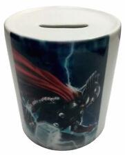 Marvel Hero Thor Ceramic Coin Money Bank - Avengers