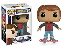Back to The Future Marty McFly Hoverboard US Excl 245 Funko Pop Vinyl