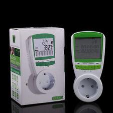 Exact 230V energy meter Watt Voltage Volt Meter Hertz Power Analyzer Factor EU