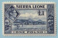 SIERRA LEONE 185  MINT NEVER HINGED OG ** NO FAULTS EXTRA FINE!
