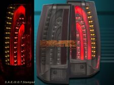 07-14 CHEVY SUBURBAN TAHOE /07-14 YUKON SMOKE LED TAIL LIGHTS V2 ESCALADE STYLE