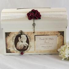 Personalised Beauty & The Beast Wedding Birthday Christening Card Post box