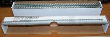"1 Box of  3-48 x 3/16"" Hex Head Thread Cutting Stick Screws Surplus 4600 Pieces"
