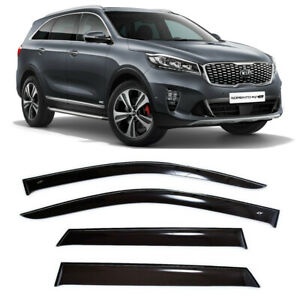 For Kia Sorento (UM) 2014-2019 Window Visors Side Sun Rain Guard Vent Deflectors