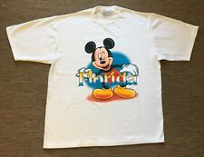 Vintage Mickey Mouse Florida T Shirt M Genus Made In Usa