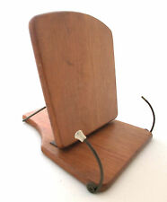 Mid-century tabletop bookstand wood unique!