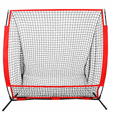 5 x 5' Baseball Softball Net Practice Hitting Pitching Batting & Catching W/ Bag