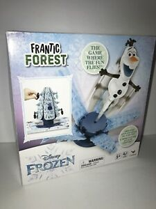 Disney Frozen Frantic Forest Olaf Game By Cardinal New