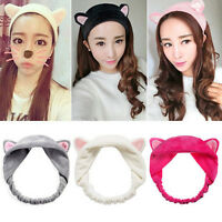 Cute Cat Ear Washing Face Hairband Bundles Headband Skin Care Makeup Hair Band
