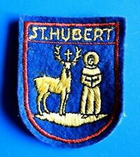 "#0369# PATCH BARETTE ECUSSON LUXEMBOURG ""ST. HUBERT"""