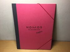 Folder Cartelletta - NOMOS Glashütte - Cover Portadocumenti - Cartone Paper