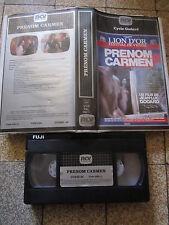 Prénom Carmen de Jean-Luc Godard, VHS RCV, Drame, TRES RARE!!!