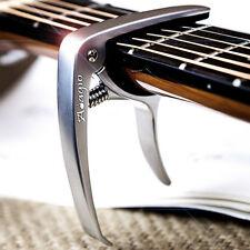 ADAGIO Professional - Silver Capo For Acoustic And Electric Guitars