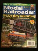 Model Railroader Magazine December 2019 How to Build a Freight Car Fleet
