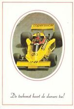 1977 Emerson Fittipaldi Copersucar Ford German Formula 1 postcard