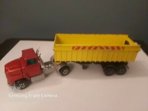 MATCHBOX SUPERKING K18 - FORD LTS WITH TIPPER TRAILER - AS PHOTOS