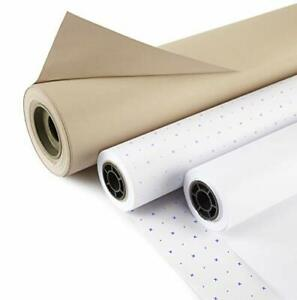 """Eastman Staples 60"""" 60gsm Spot & Cross Pattern Marking Paper x 250mts"""