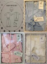 New Baby Boy Girl Christening Gift Outfit Set Babygrow Hat Mitts Upto 6 Months