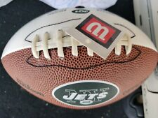 Wilson Official Jets Football, White Panel Wtf1532 Jct48