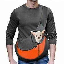 New listing Pet Dog Sling Carrier Breathable Mesh Travel Safe Sling Bag Carrier for Dog Cat