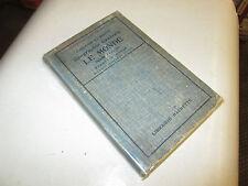 GEOGRAPHIE GENERALE, LE MONDE, MOINS L'EUROPE ET LES COLONIES EUROPEENNES.1922