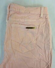 Michael Kors Women's Light Pink Skinny Denim Jeans 8 x 27
