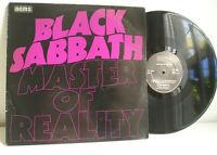 Black Sabbath Master of Reality LP Ireland press