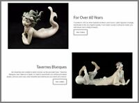 LLADRO Dropshipping  Website|£2,800 A SALE|FREE Domain|Hosting|Traffic