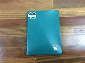Rolex Vintage Plastic Card / Papers Holder + FREE SHIPPING